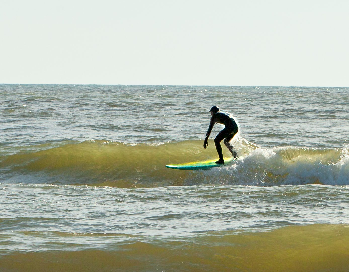 (PHOTO GALLERY) Pere Marquette Beach still showing Muskegon has what it takes to surf
