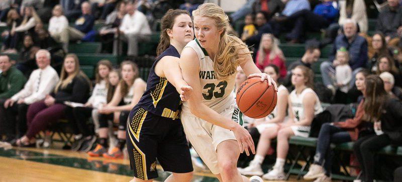 WMC girls basketball team advances to Div. 3 district finals, eliminates North Muskegon