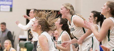 WMC girls basketball team downs Saugatuck 59-40, wins Division 3 district championship