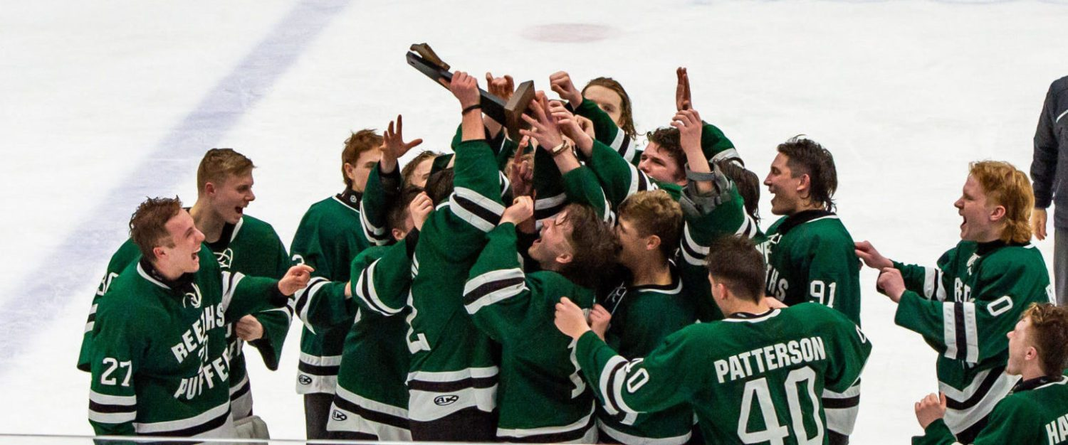 Reeths-Puffer hockey team rallies past TC West to win Division 1 regional championship