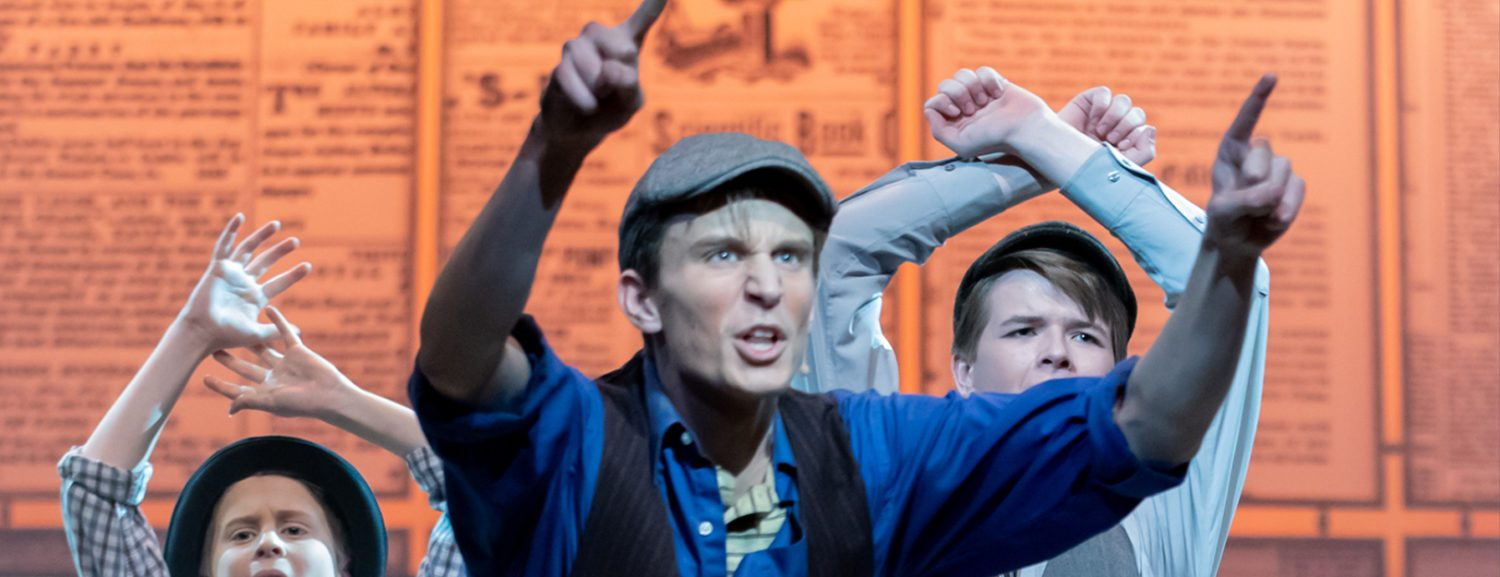 R-P soccer star Jaxon Carpenter shows he has a knack for musical theater, as well