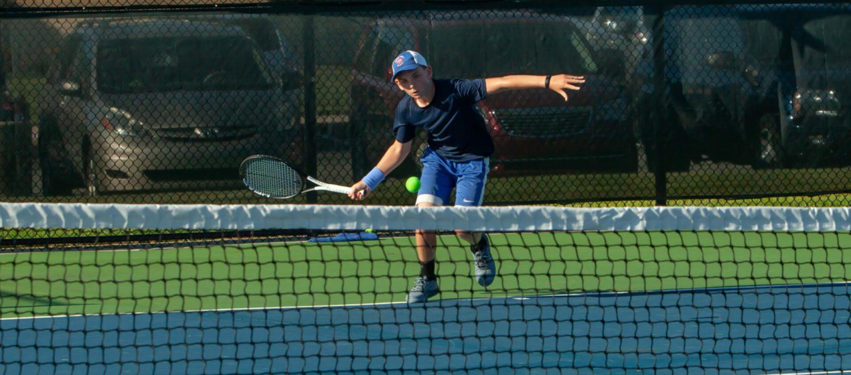 Freshman Hackney gets two impressive wins in Mona Shores' boys tennis season opener