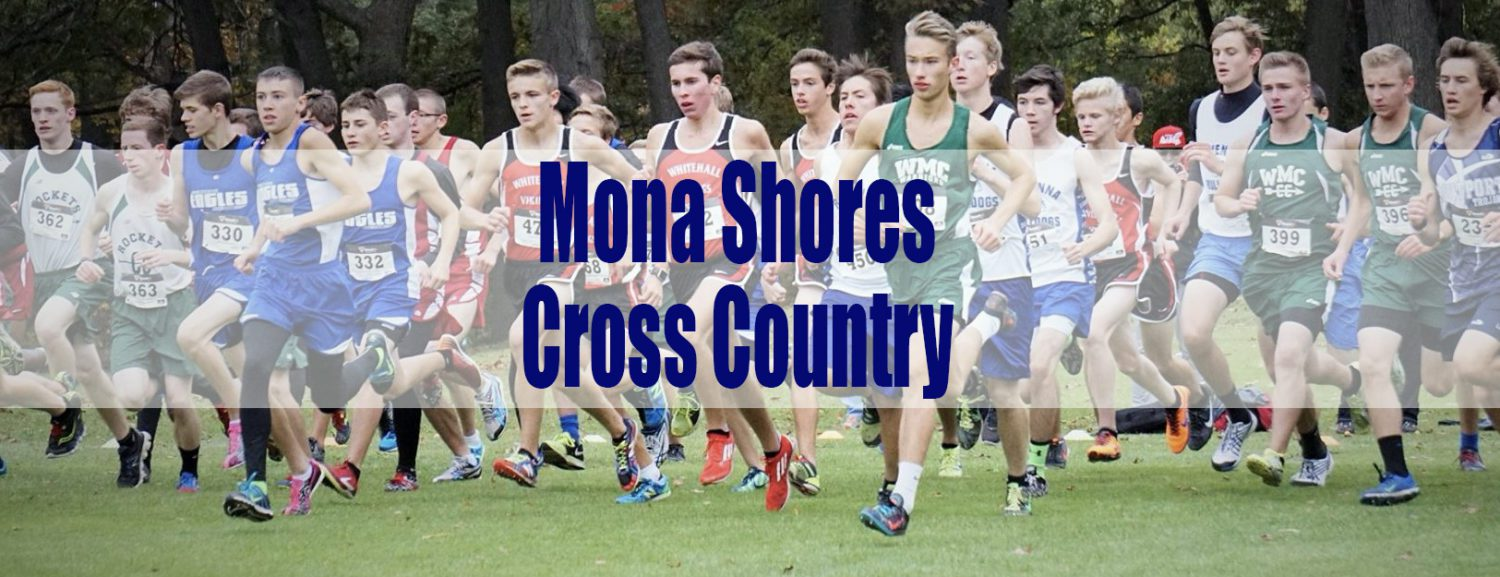 Mona Shores boys and girls teams turned in strong times at Benzie Central run