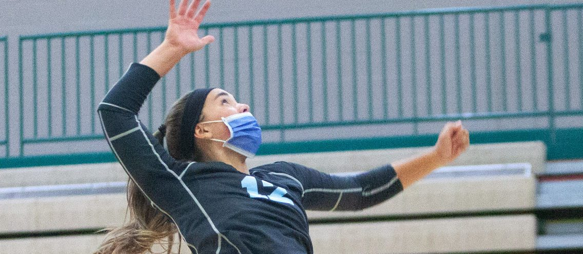 Surging Mona Shores volleyball squad depends on the skill, leadership of LeRoux, Wade and Norris