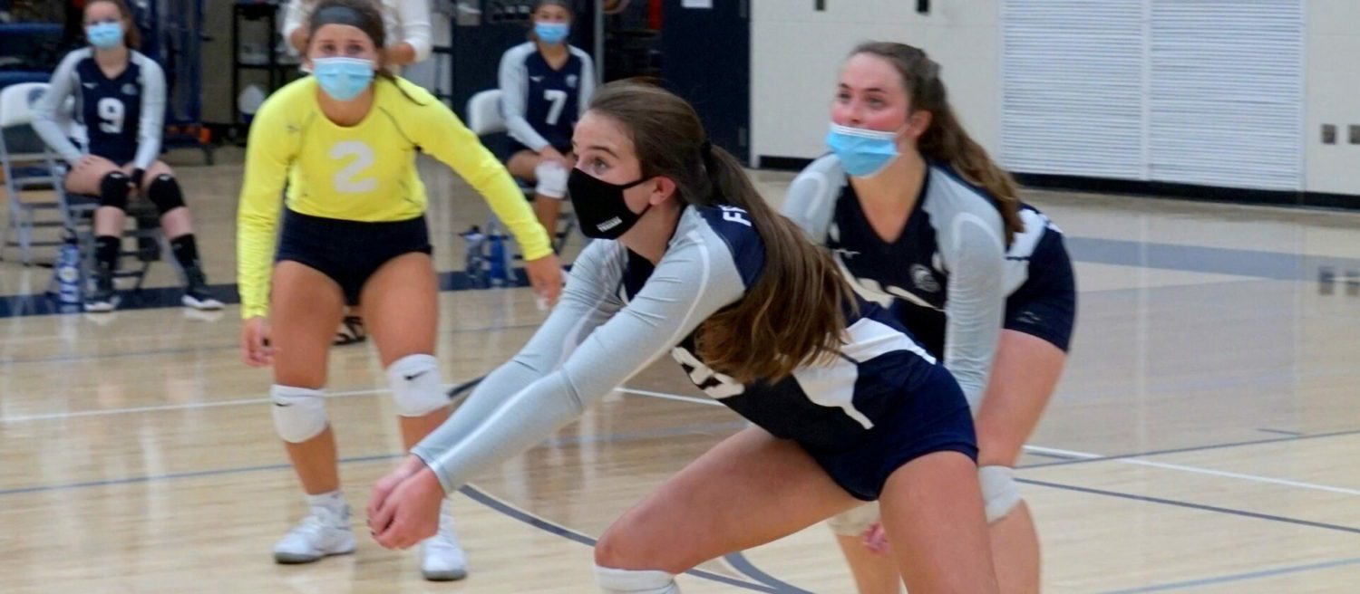 Fruitport volleyball team gets a rude welcome to the O-K Blue with a five-set loss to West Catholic