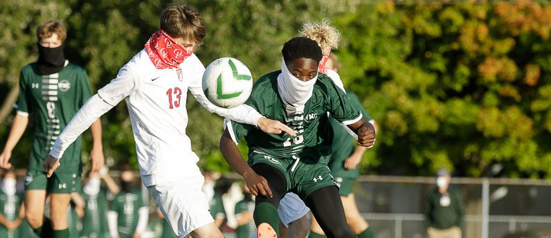 Western Michigan Christian soccer team improves to 4-0 with a dominant league victory over OV