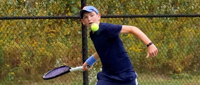 Mona Shores successfully defends GMAA tennis title, freshman Hackney dominates top singles flight