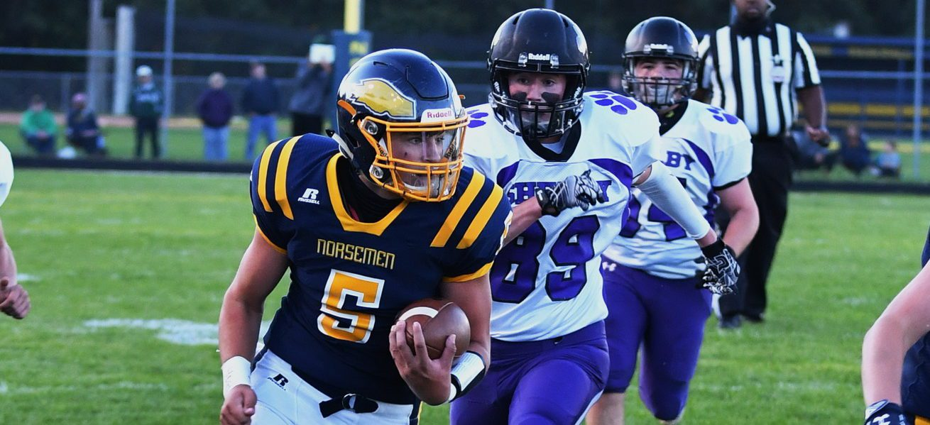 North Muskegon football team opens the season with a 42-0 win over visiting Shelby
