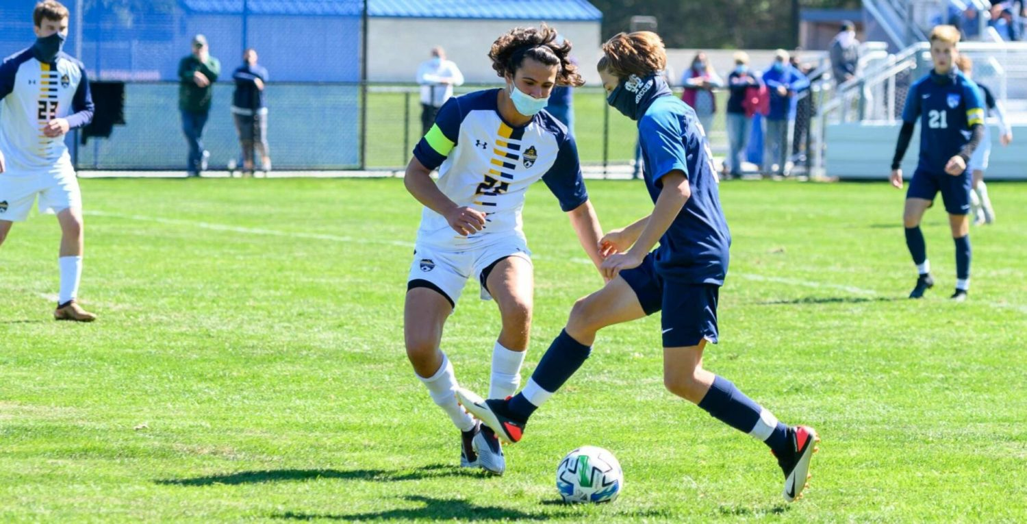 The boys soccer schedule is heating up, check out photos from Mona Shores' Saturday win over Grand Haven