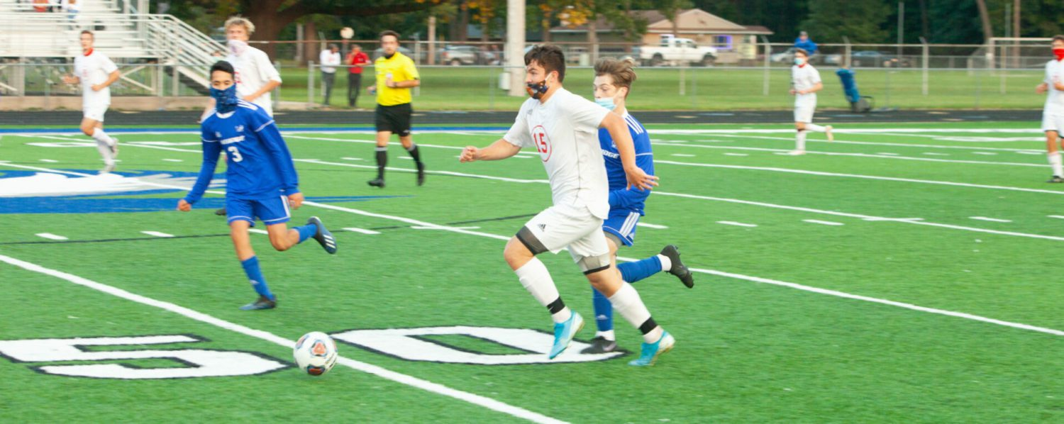 Whitehall soccer team remains undefeated after beating Oakridge 4-1 in a penalty-marred contest