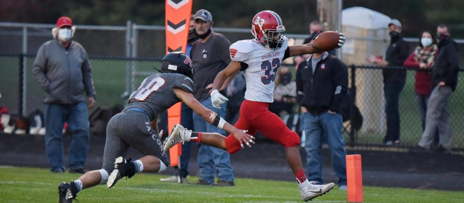 Spring Lake holds on late to defeat previously undefeated Allendale in conference clash