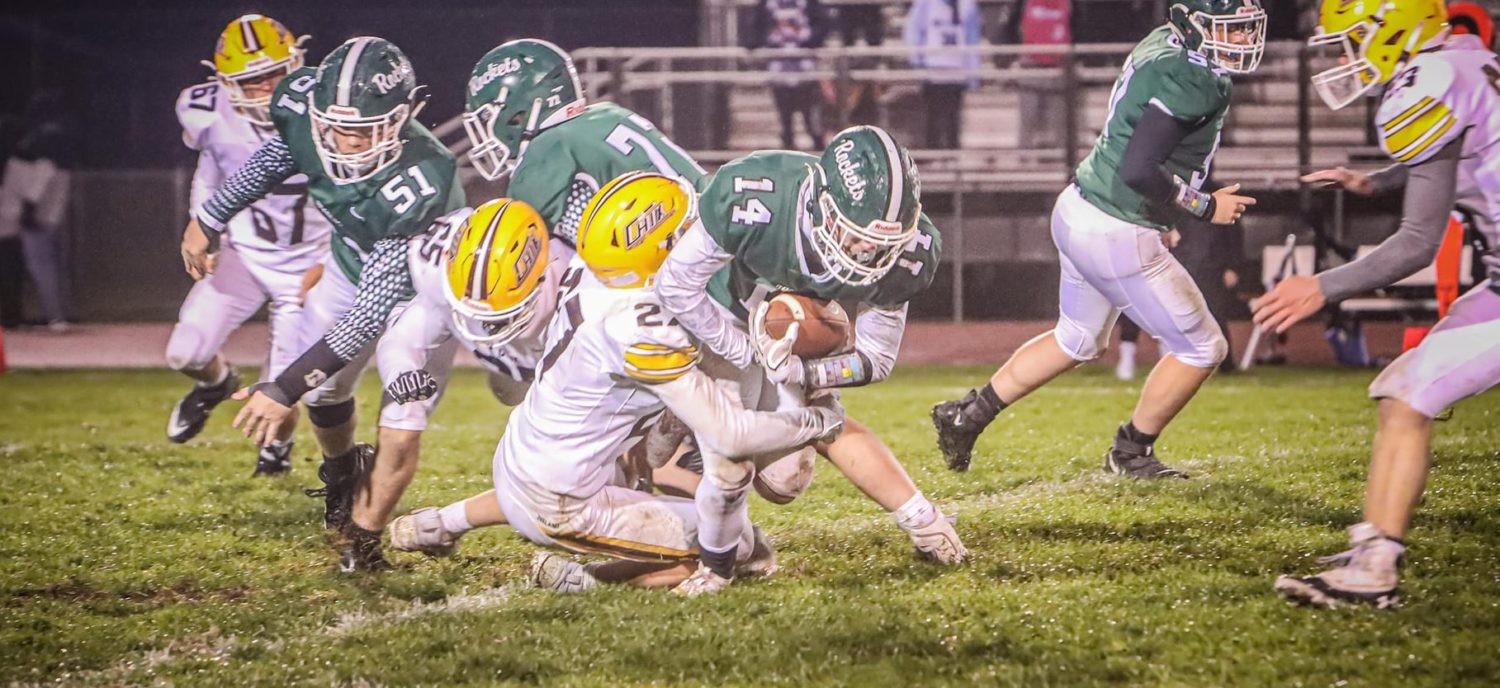 Pairings for Muskegon-area teams in next weekend's first round high school football playoff games