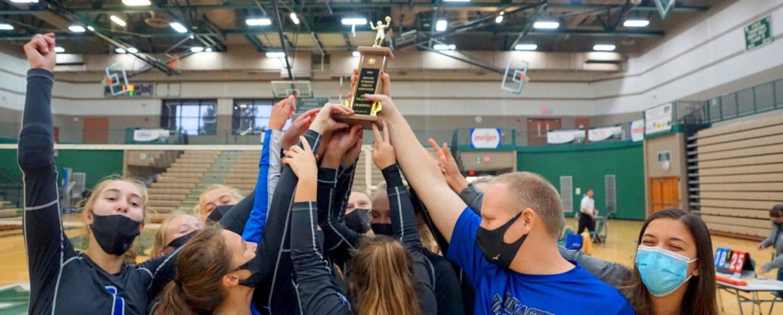 Montague volleyball team beats Norse, WMC to capture first city tournament championship since 1997