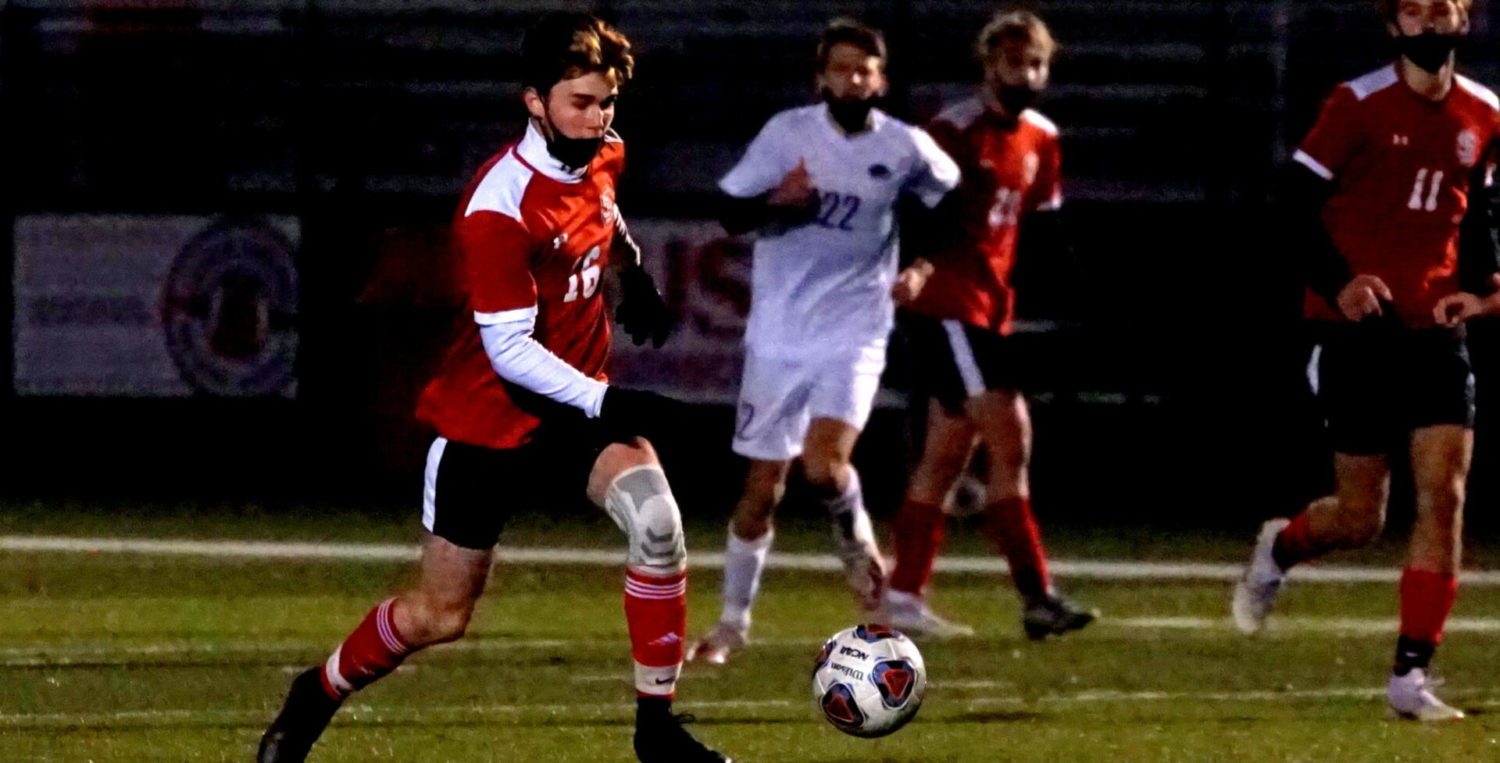 Fritsche scores two goals, Parker gets the shutout in Spring Lake's 2-0 regional win over FH Eastern