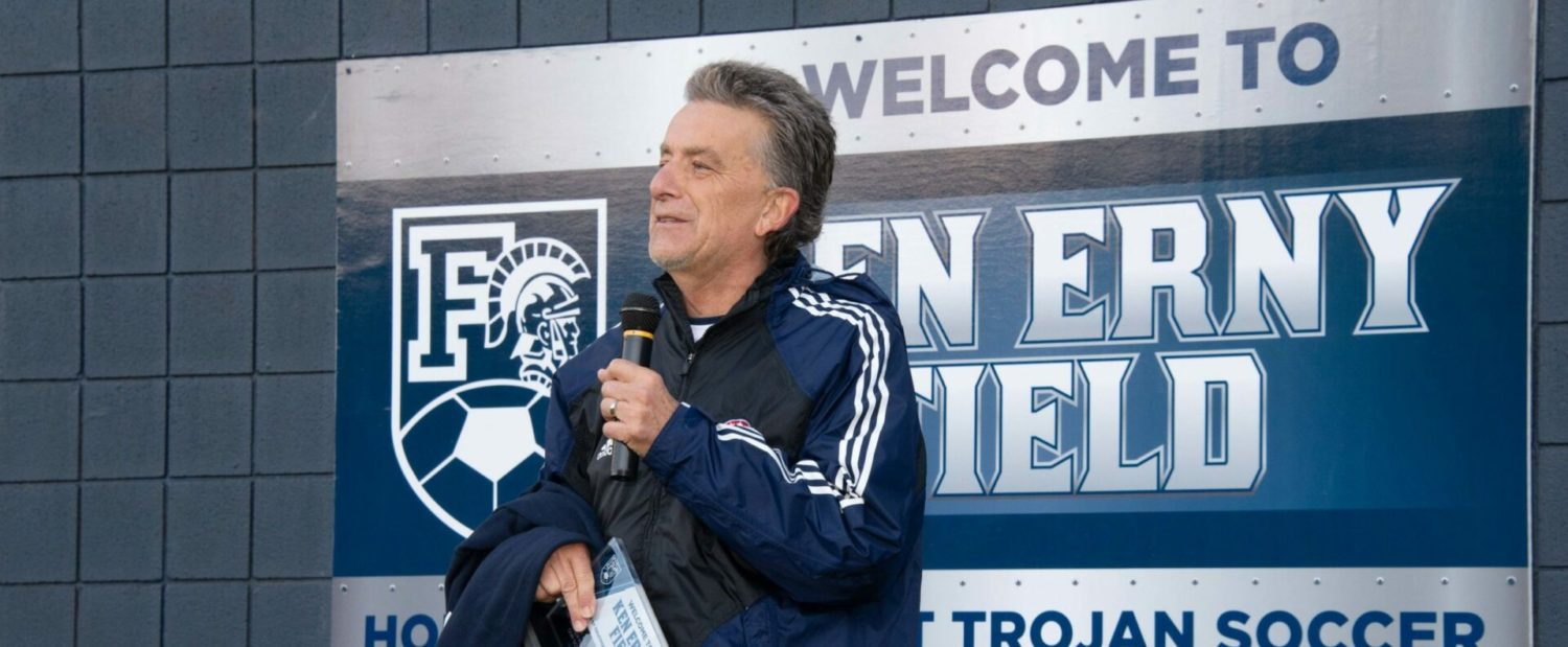 Ken Erny Field: Fruitport dedicates its soccer facility to its beloved former coach and athletic director