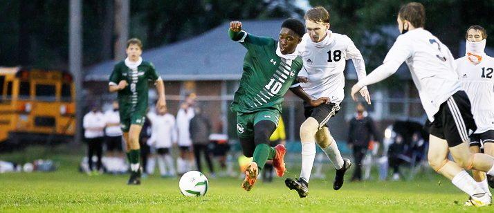 Lulo Mafahla: The kid from South Africa who gave up football to boost WMC's soccer team this fall