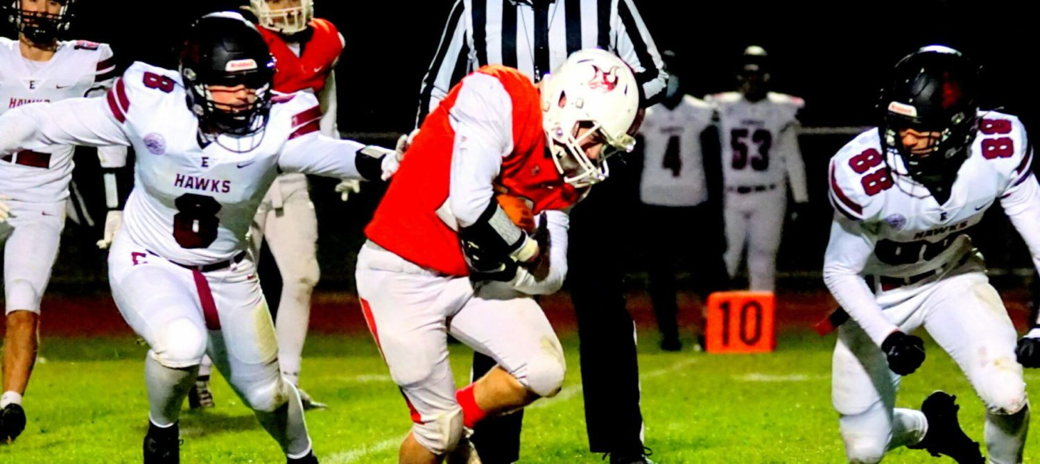Whitehall's impressive turnaround season ends with a 41-13 loss to FH Eastern in district finals