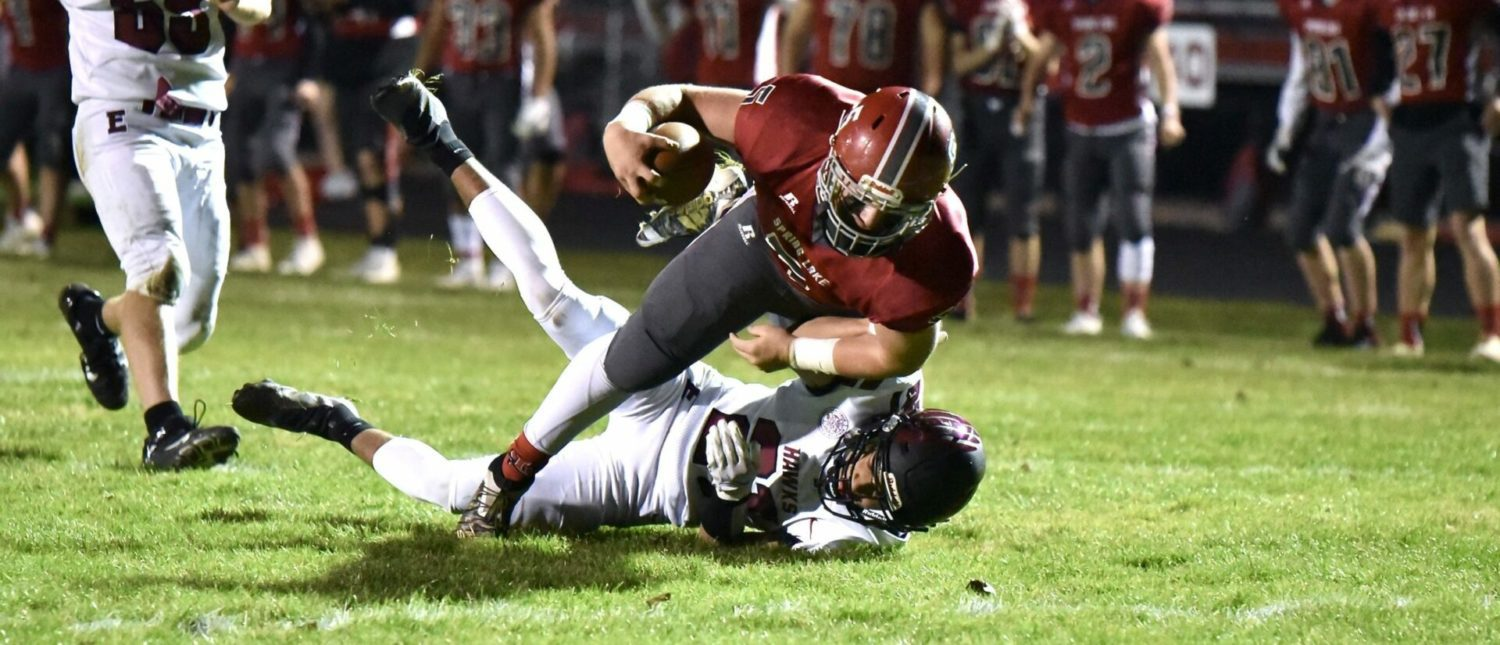 Spring Lake pushes Forest Hills Eastern to the limit before falling 28-21 in a Division 4 playoff thriller