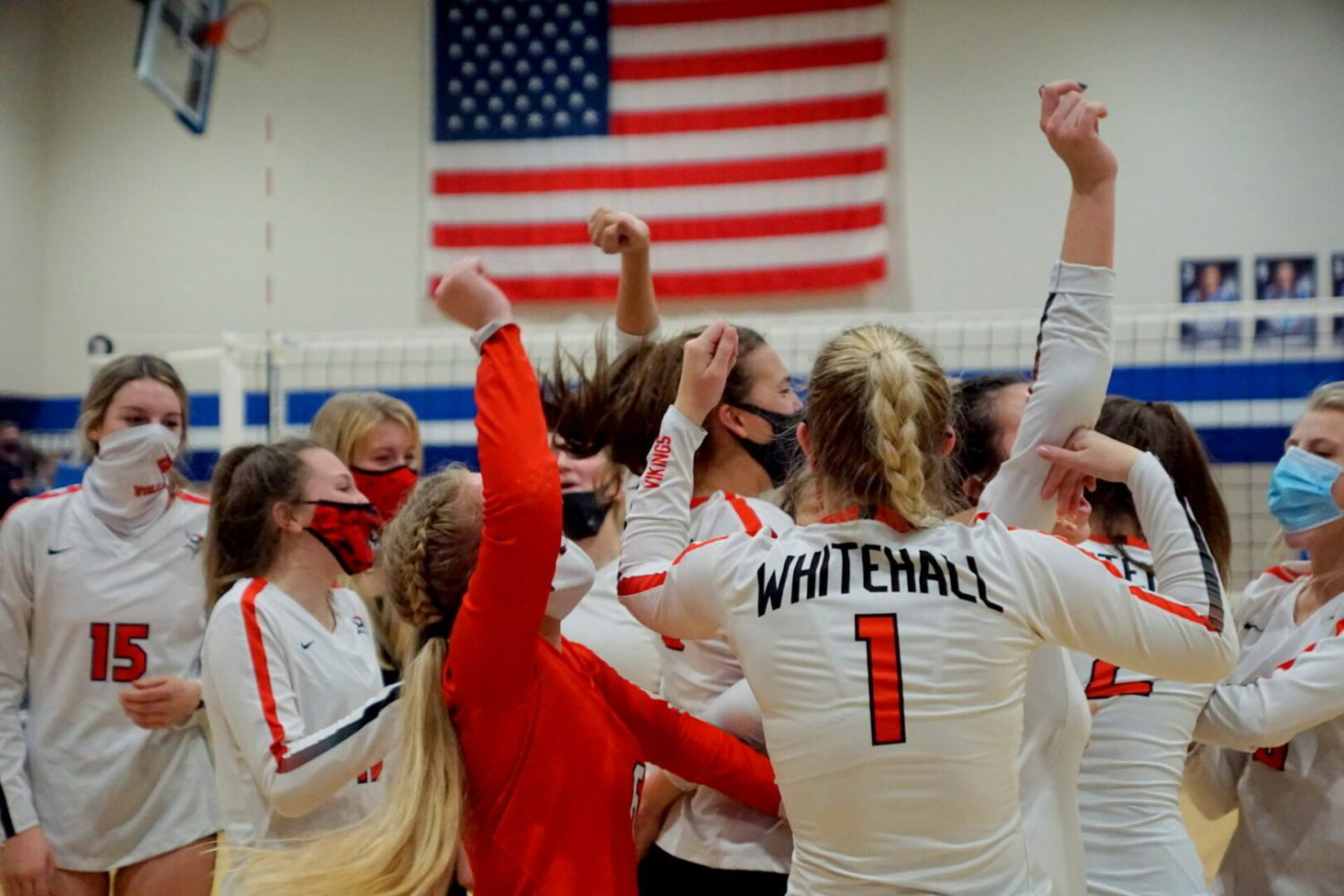 Whitehall volleyball team rises up and stuns state-ranked Montague 3-1 in Division 2 district finals