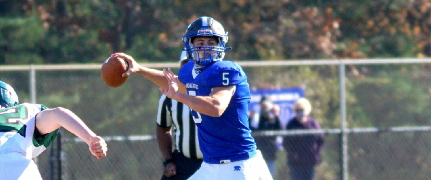 After two playoff near misses, Montague QB Drew Collins, teammates focused on finishing the job