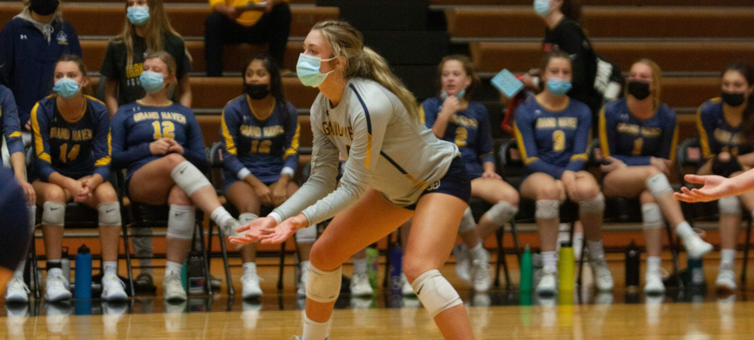 Grand Haven volleyball team falls to Rockford for third time this season, this time in regional semifinals