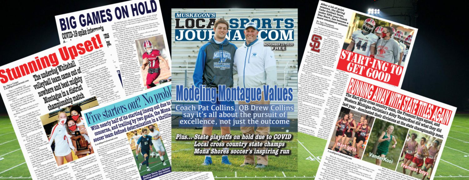 Get your LSJ November magazine download now! Montague's Pat and Drew Collins discuss the real value of prep football