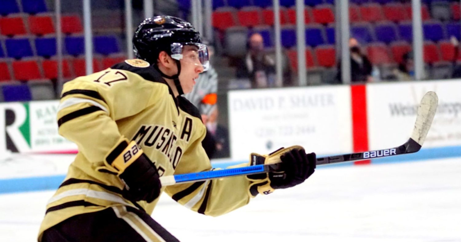 Cam Berg found his scoring touch after trade to Lumberjacks, now near the top of the league scoring race