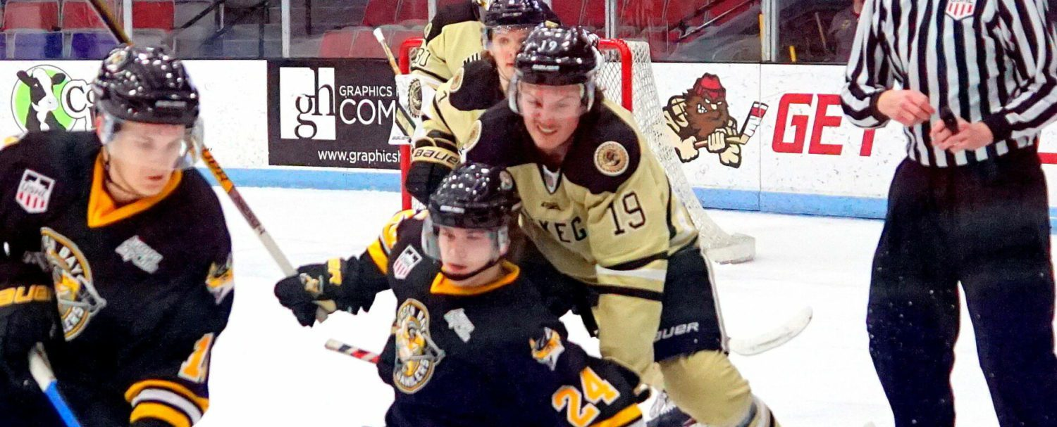 Lumberjacks kill off a slew of penalties, then rise up in the third period to beat Green Bay Gamblers 4-1