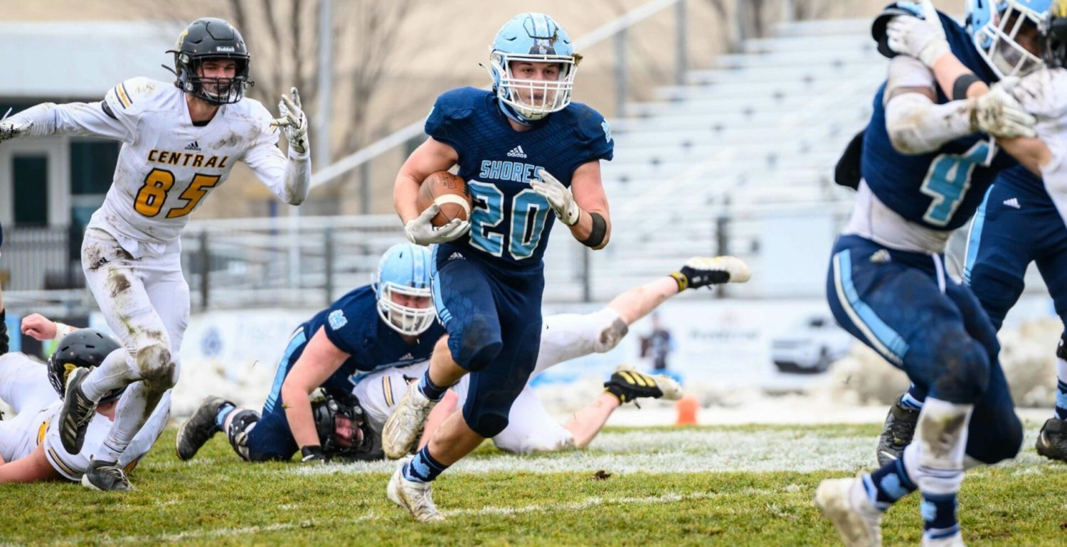 Mona Shores storms back from halftime deficit, beats Traverse City Central to advance to the Division 2 state finals