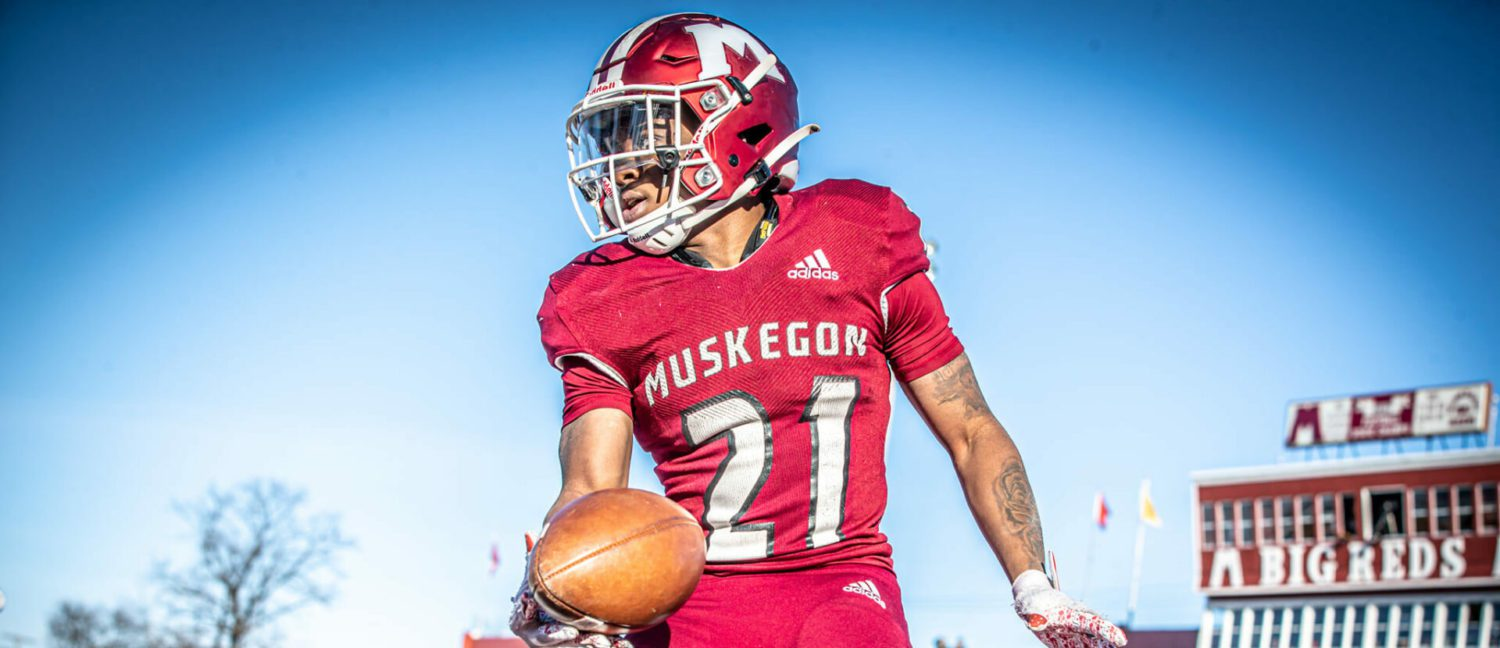 Patience paid off for Muskegon senior Jacarri Kitchen, who waited two seasons for the chance to show off his talent