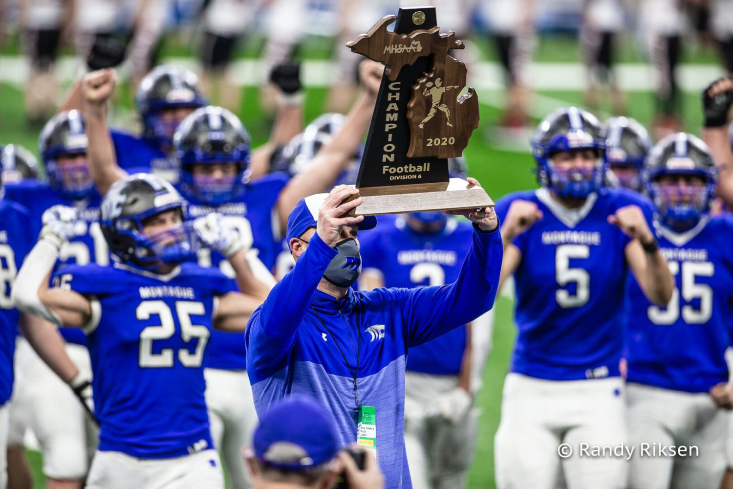 [VIDEO] One week ago, Montague gave its best response to most challenging season on record: A state football title