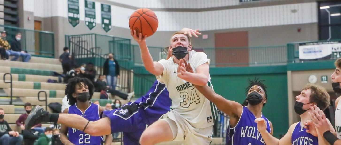 Reeths-Puffer boys, led by their big guys, open the season with a 65-58 win over Wyoming in an O-K Green conference tilt