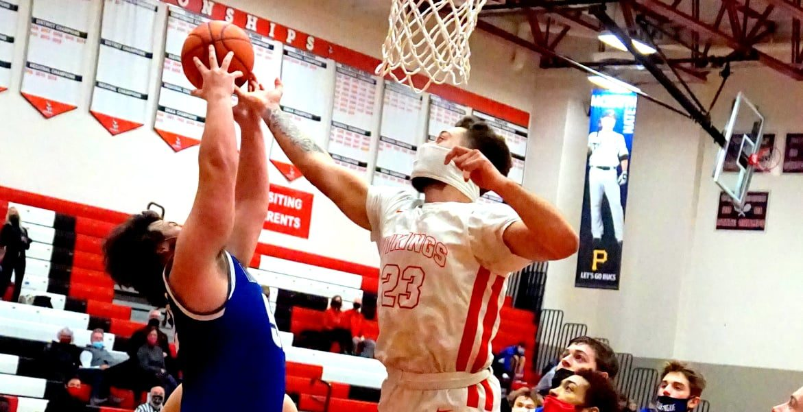 After working hard to improve, Whitehall dunkmaster Dayton Cole has become a bigger weapon for strong Viking squad