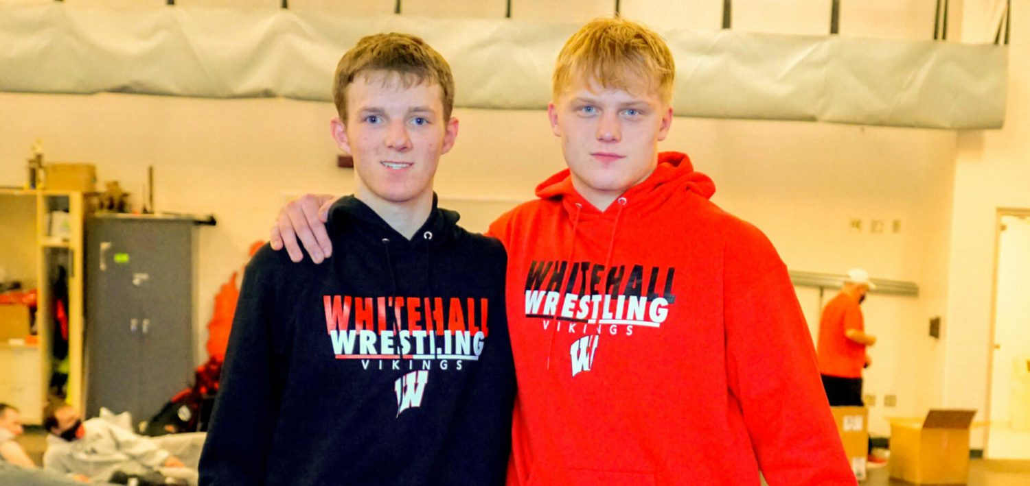 Whitehall's Jenkins, Brown happy to reach 100 wins, recapture city team title, despite no chance to repeat as individual champs