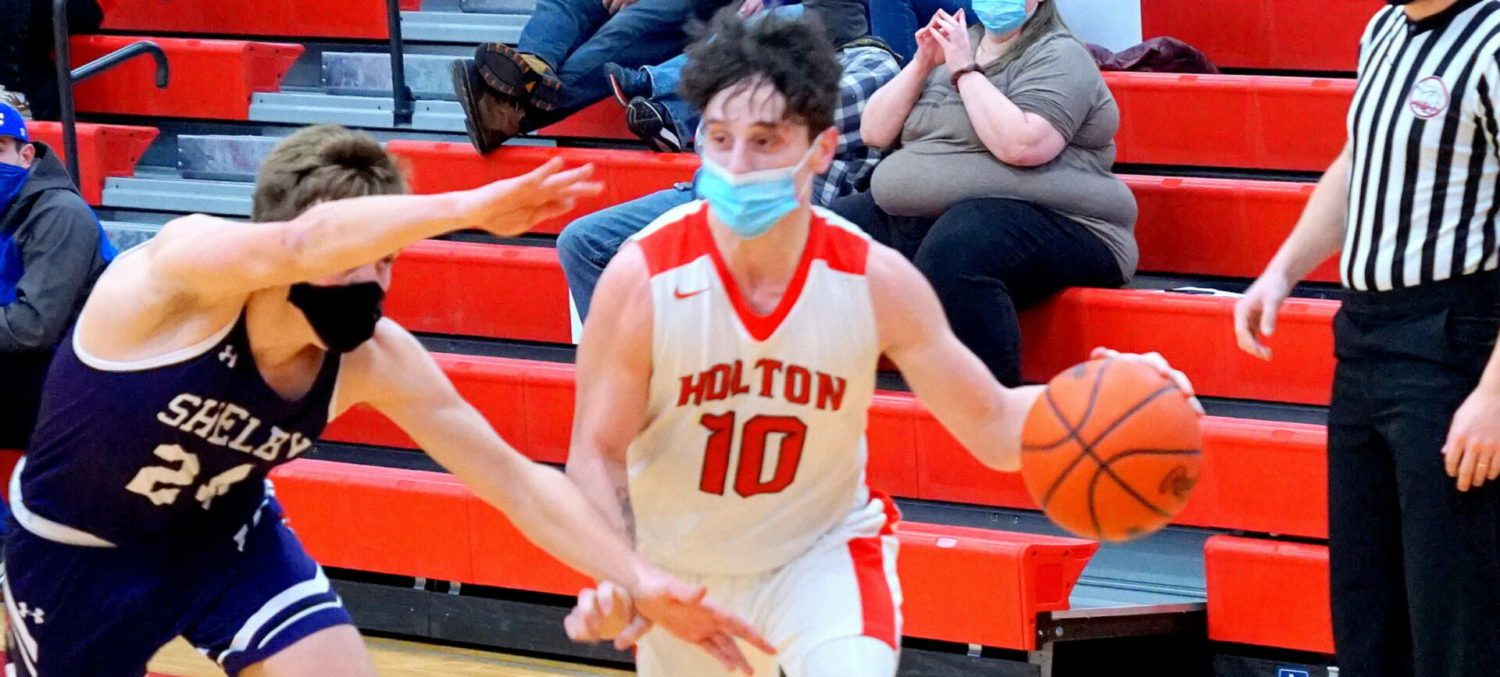 Holton boys basketball squad improves to 7-1 on the season with a victory over Shelby
