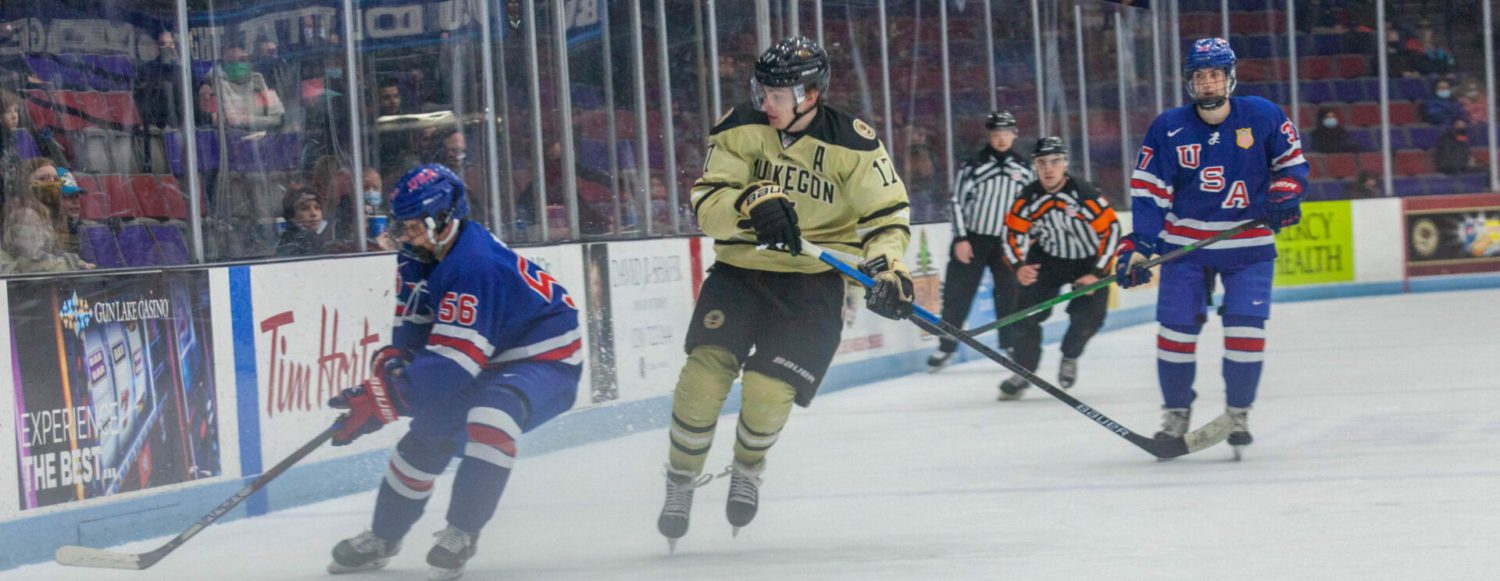 Lumberjacks give up four unanswered goals in an ugly third period, fall to Team USA Under 17 squad 6-4