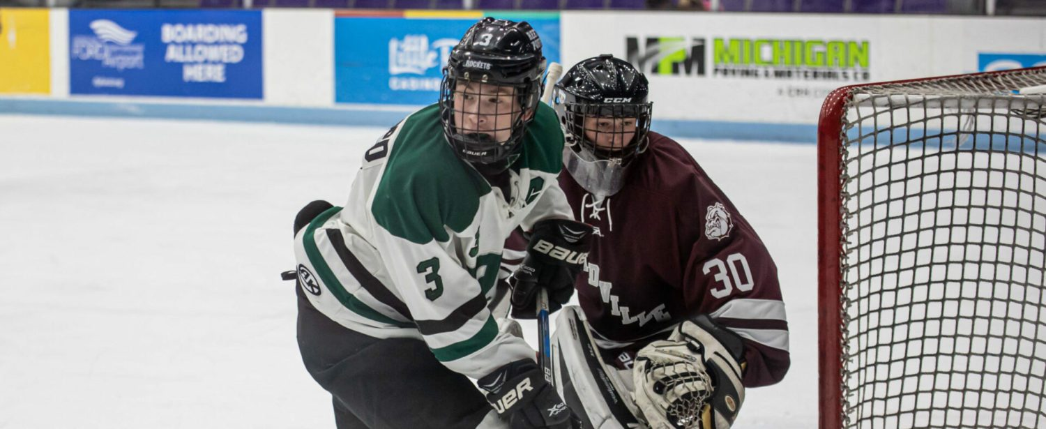 Reeths-Puffer Hockey scores first but falls to visiting Grandville on Wednesday