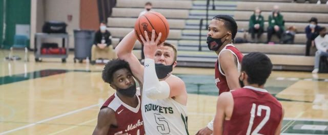 Reeths-Puffer boys lose a big lead, then recover to stun Muskegon 81-79 in a double-overtime conference thriller