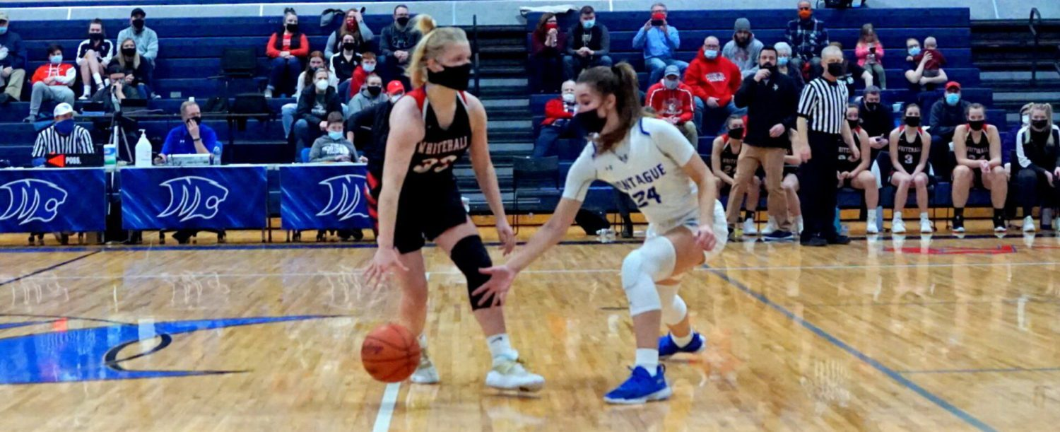 Montague girls basketball team uses trademark stingy defense to shut down Whitehall 37-29, remains undefeated at 13-0