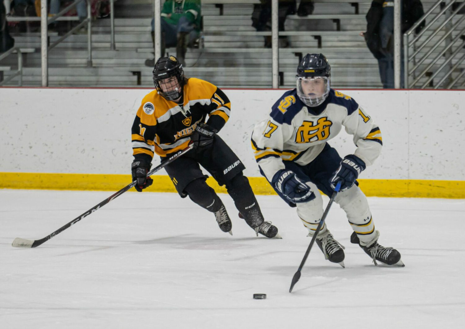 Grand Haven hockey team falls just short in bid to win conference championship