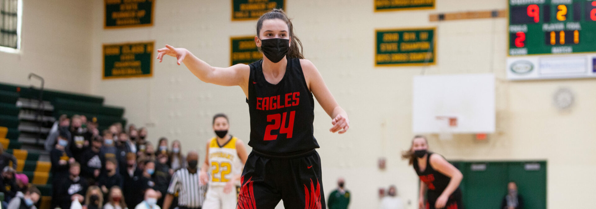 Kent City girls crush Covenant Christian 69-23 in the Division 3 regional finals, move on to state quarterfinals on Monday