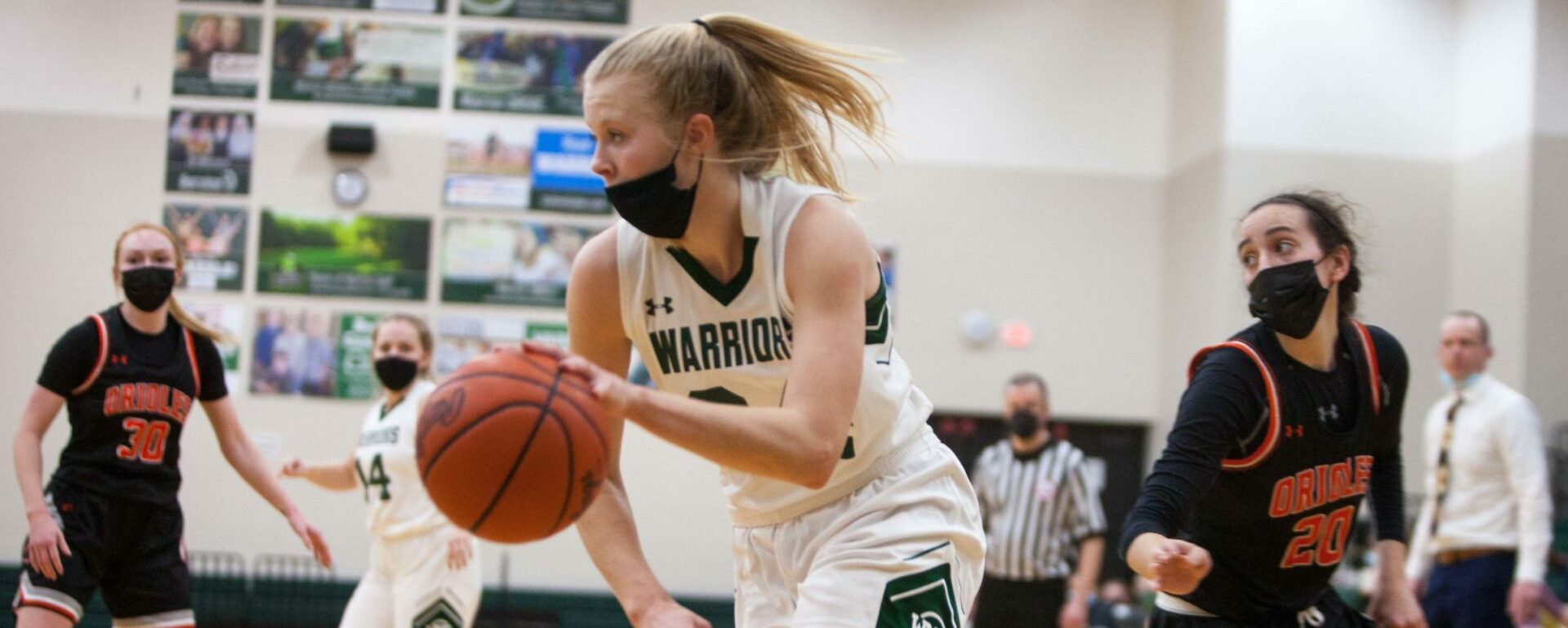 Western Michigan Christian girls beat Ludington to avenge an earlier loss, claim a share of the Lakes 8 Conference title