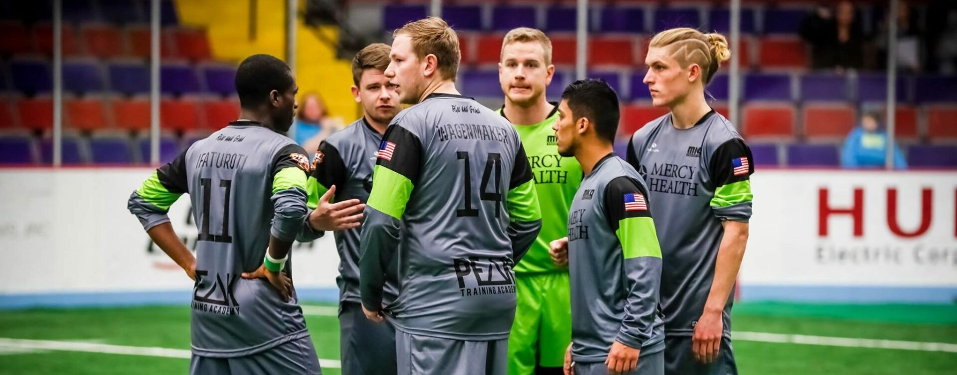 The Muskegon Risers indoor team returns for a home game against Fort Wayne on Saturday to kick off a shortened season