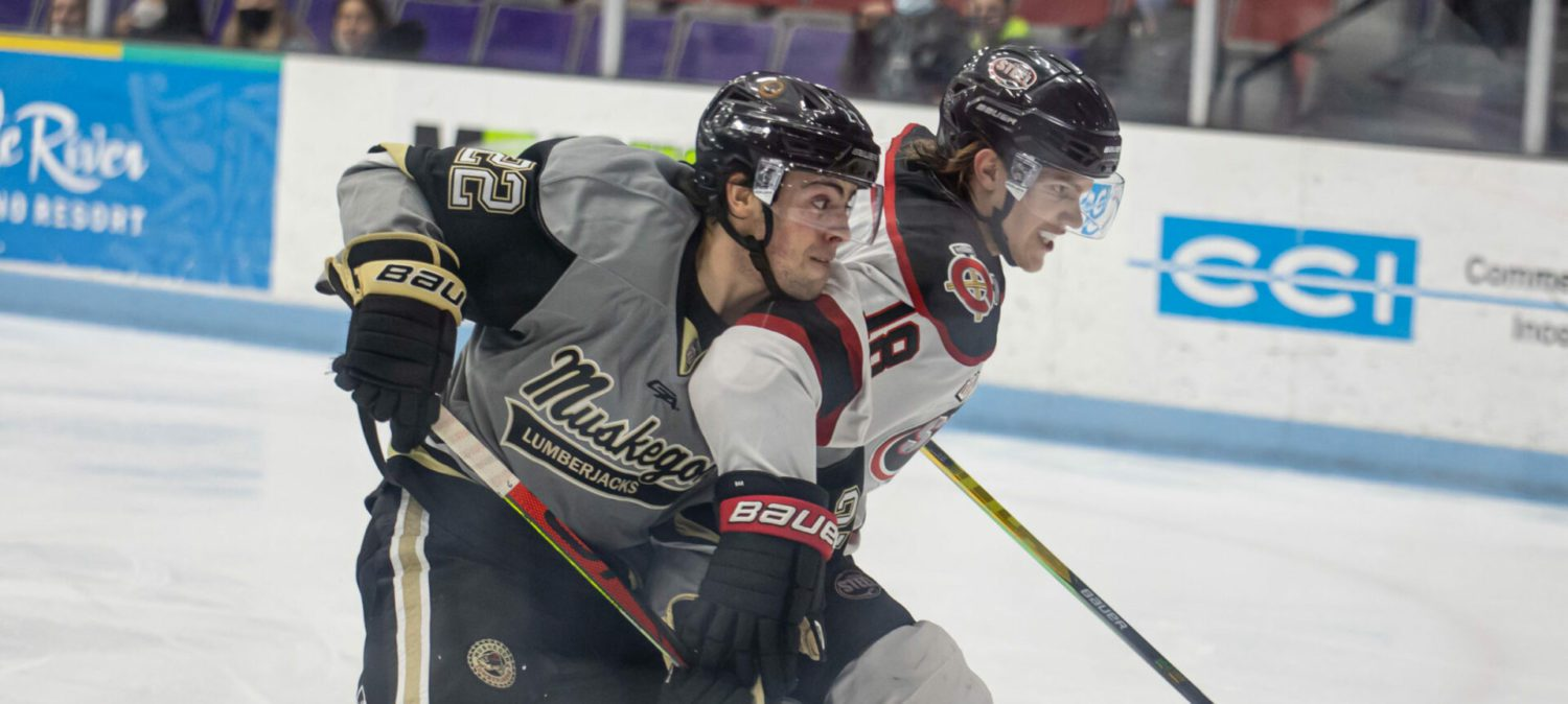 Lumberjacks get Gushchin back into the lineup, but fall 6-3 to the Chicago Steel in a showdown game on Friday