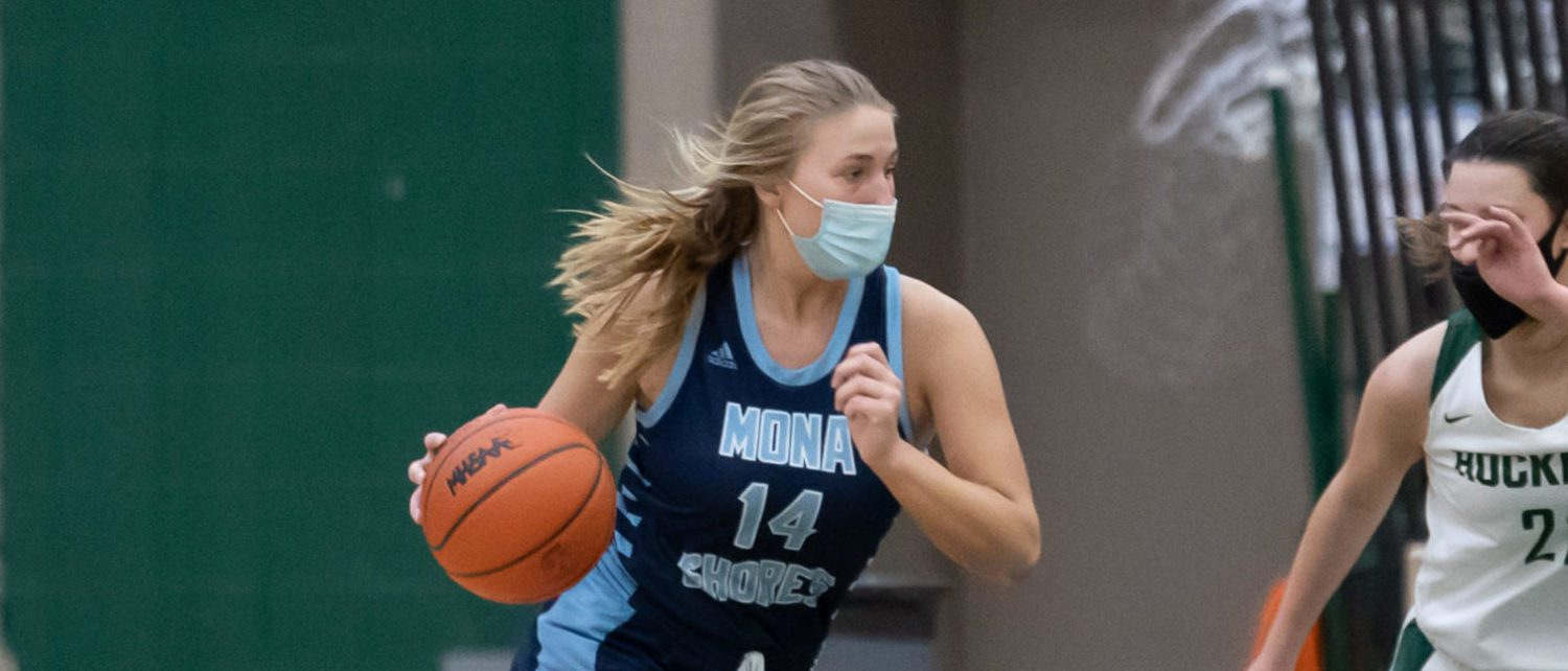 Riley Rosenthal is the leading scorer of a very balanced Mona Shores hoops squad that is battling for championships