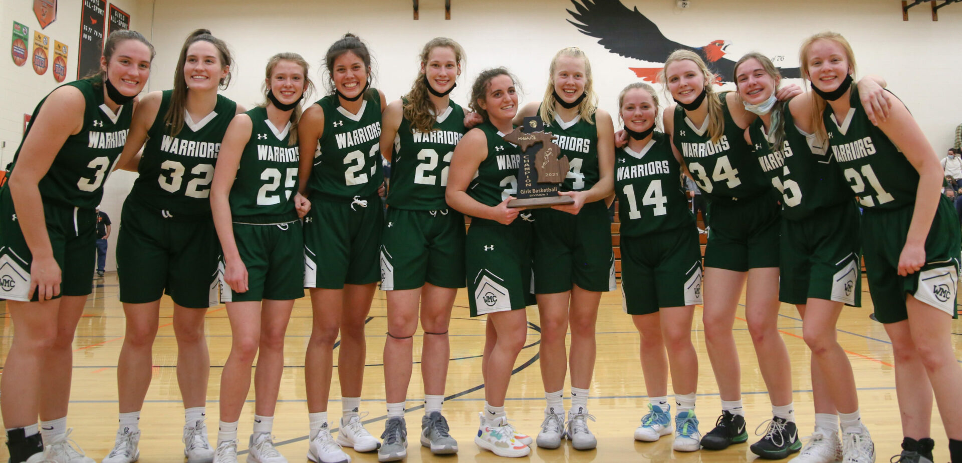 WMC girls basketball team captures D3 district title with 51-17 victory over North Muskegon