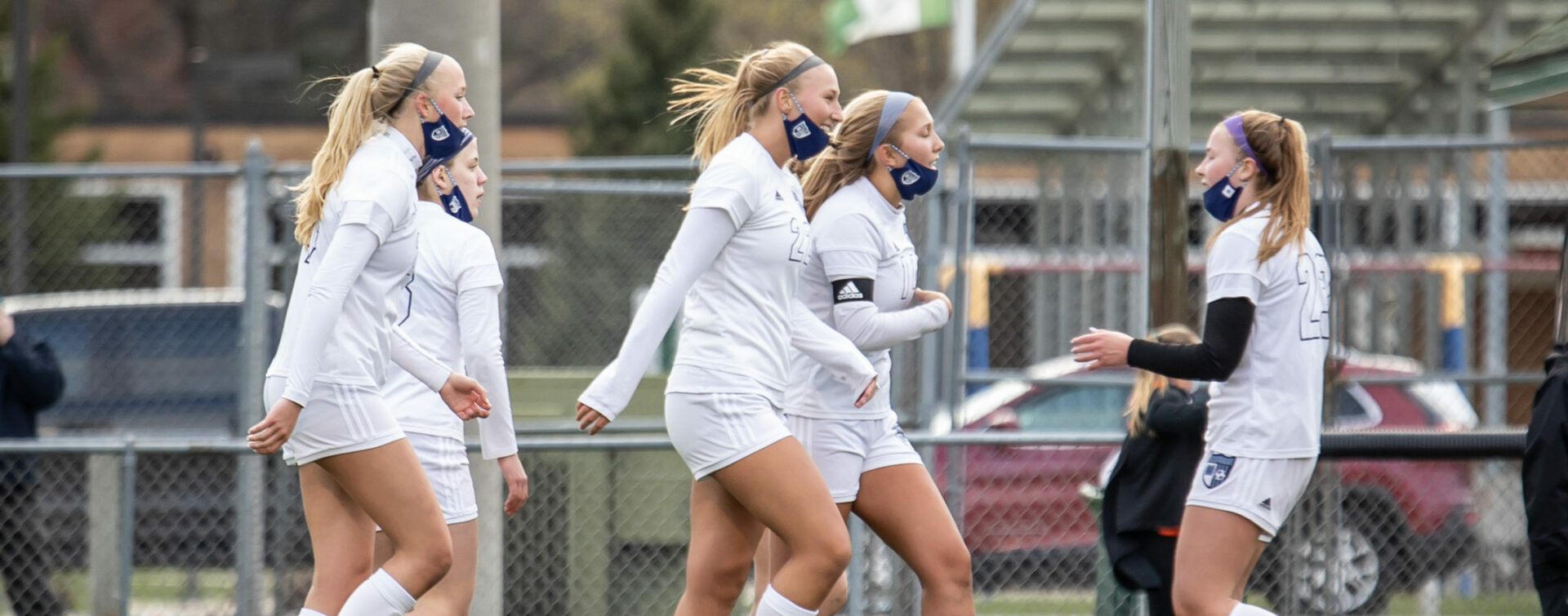 Mona Shores girls soccer team improves to 3-1 with an impressive 5-0 shutout victory over Reeths-Puffer