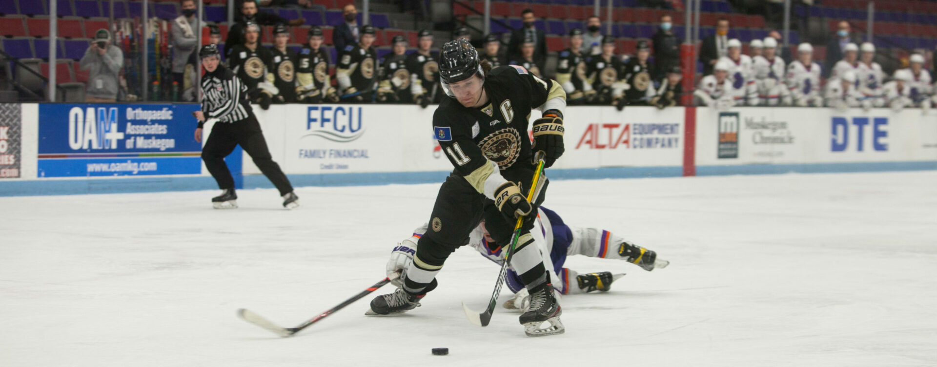 Lumberjacks ready to brush off late slump, clash with Green Bay this weekend at home in the first round of playoffs