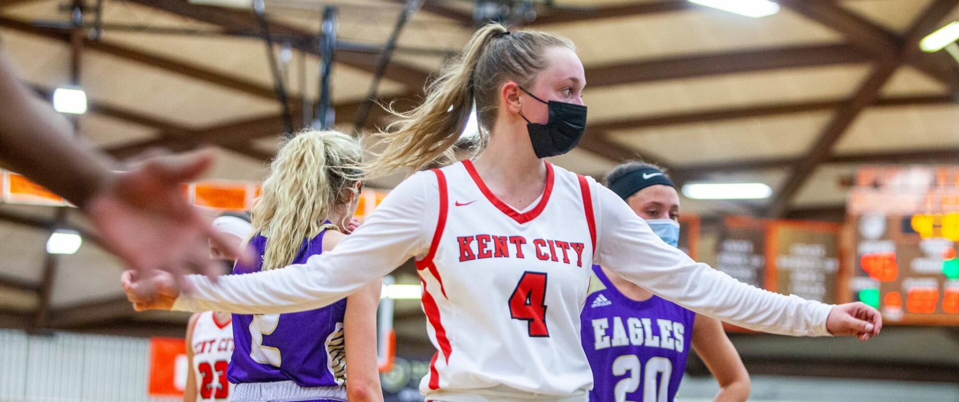 Talented and determined Kent City girls basketball team prepared for its final push toward a Division 3 state championship