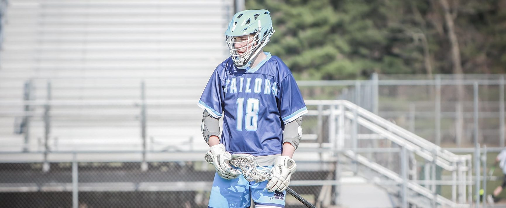 Junior Landon Taylor playing the leading role in the Mona Shores lacrosse team's amazing turnaround this spring